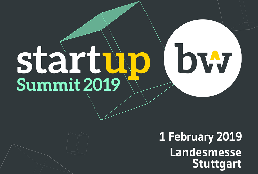 #Geospinfairs – Start-up BW Summit in Stuttgart in February 2019